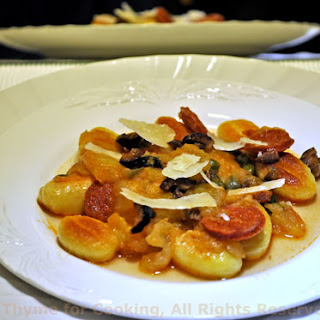Gnocchi with Chorizo