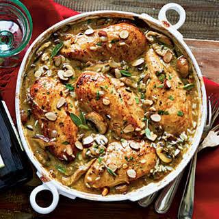 Chicken-Mushroom-Sage Casserole.