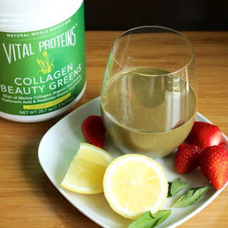 Marine Collagen Strawberry Greens Smoothie