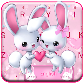 Bunny Love Keyboard Theme Android APK Download Free By Cool Themes And Art Work