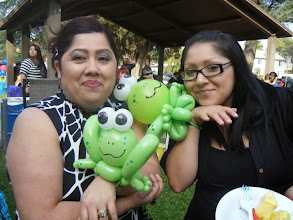 Photo: Adults love Balloon characters too! Book Heidi by calling888-750-7024