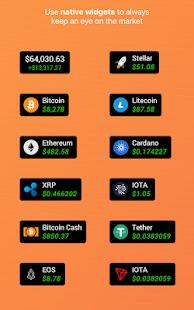 Crypto investment tracker app