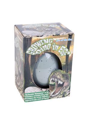 Växande dinosaurie i ägg