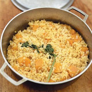 Pumpkin Rice.