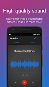 Easy Voice Recorder Pro v2.7.6 Patched MOD APK 2