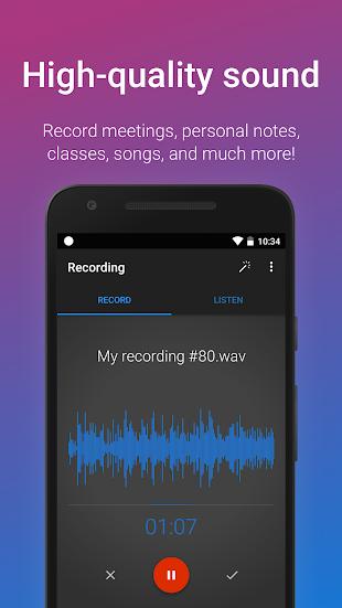 Easy Voice Recorder Pro- screenshot thumbnail