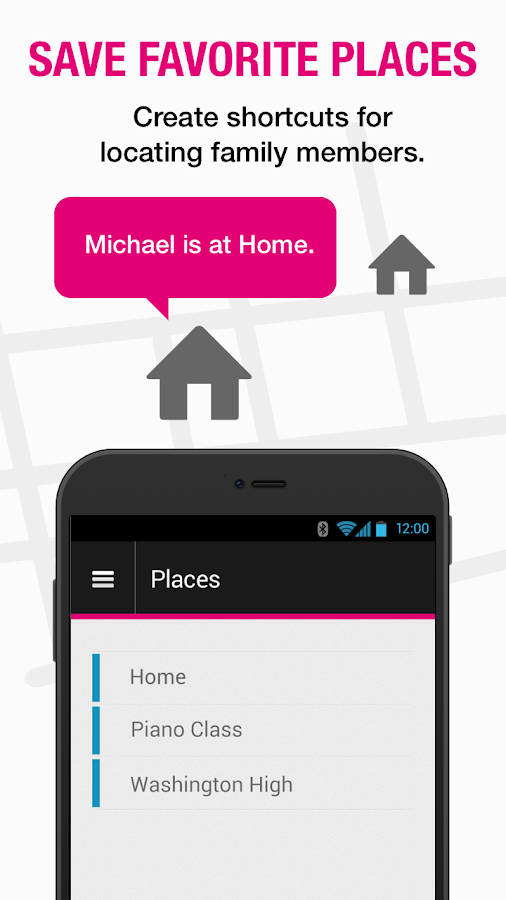 T-Mobile FamilyWhere- screenshot