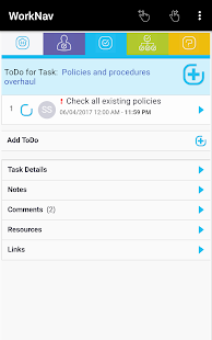 WorkNav- screenshot thumbnail