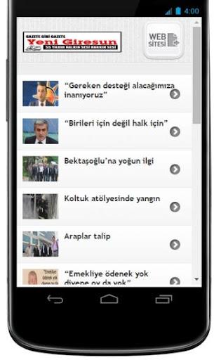 Yeni Giresun Gazetesi