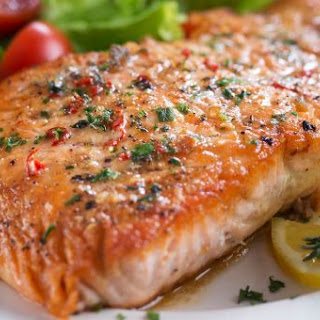 Slow-Baked Dill Salmon.