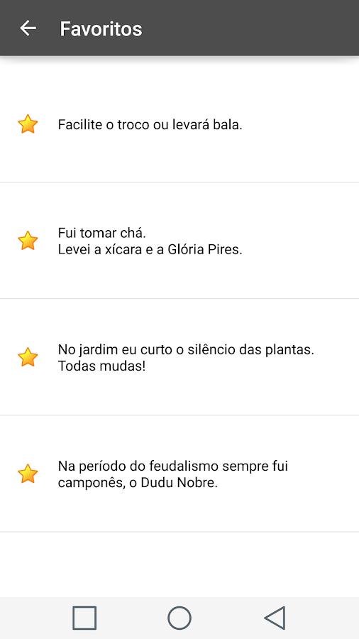 Piadas com Trocadilhos- screenshot