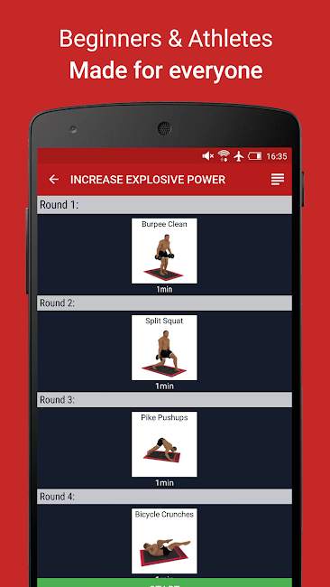 #4. MMA Spartan Workouts Pro (Android)
