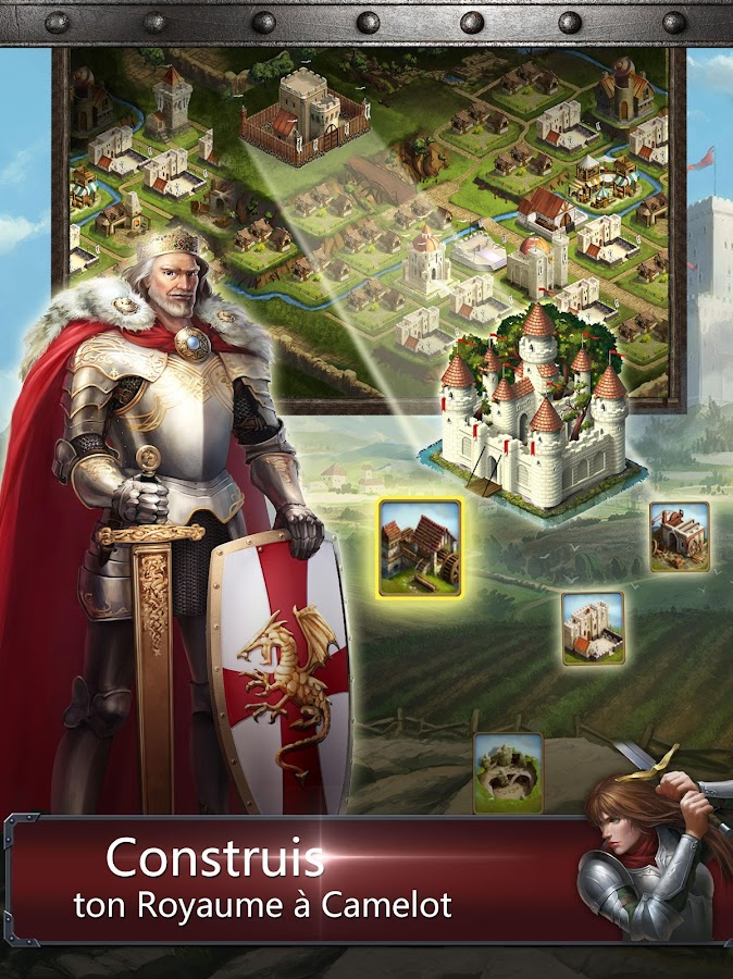 Kingdoms of Camelot: Battle – Capture d'écran