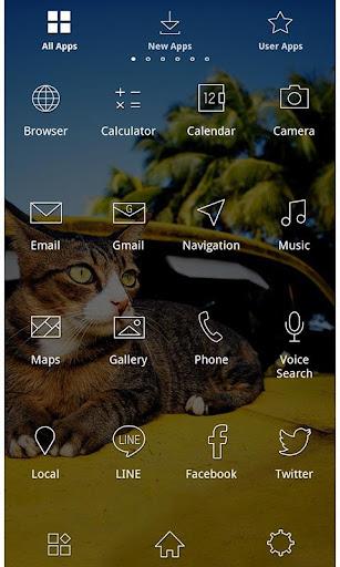 Cute Theme-Cat on a Car- 1.0.0 Windows u7528 3