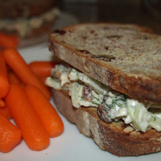 Chicken Salad with Fennel and Almonds