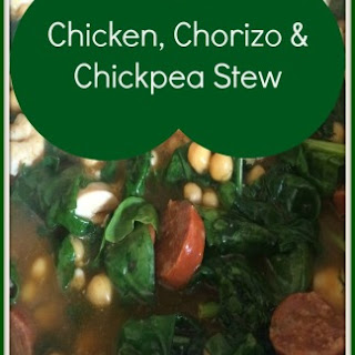 Chicken, Chorizo and ChickPea Stew Recipe