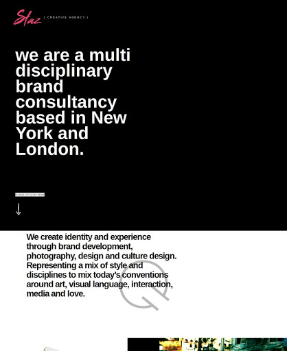 Build a Contemporary agency Website