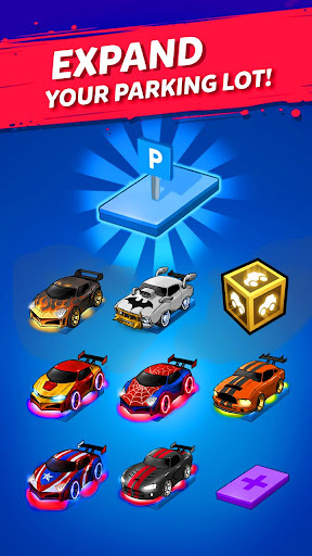 Merge Neon Car: Car Merger  screenshots 10