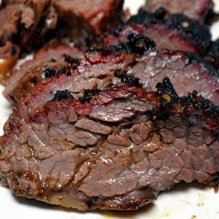 Slow Cooker Barbecued Beef Brisket.