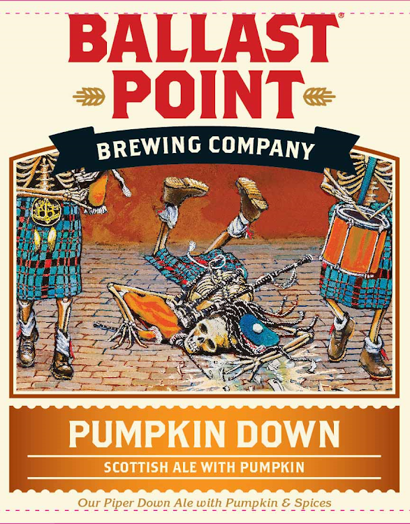 Logo of Ballast Point Pumpkin Down