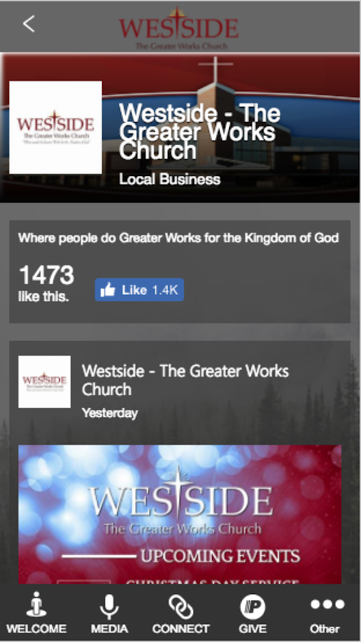 Westside-Greater Works Church- screenshot