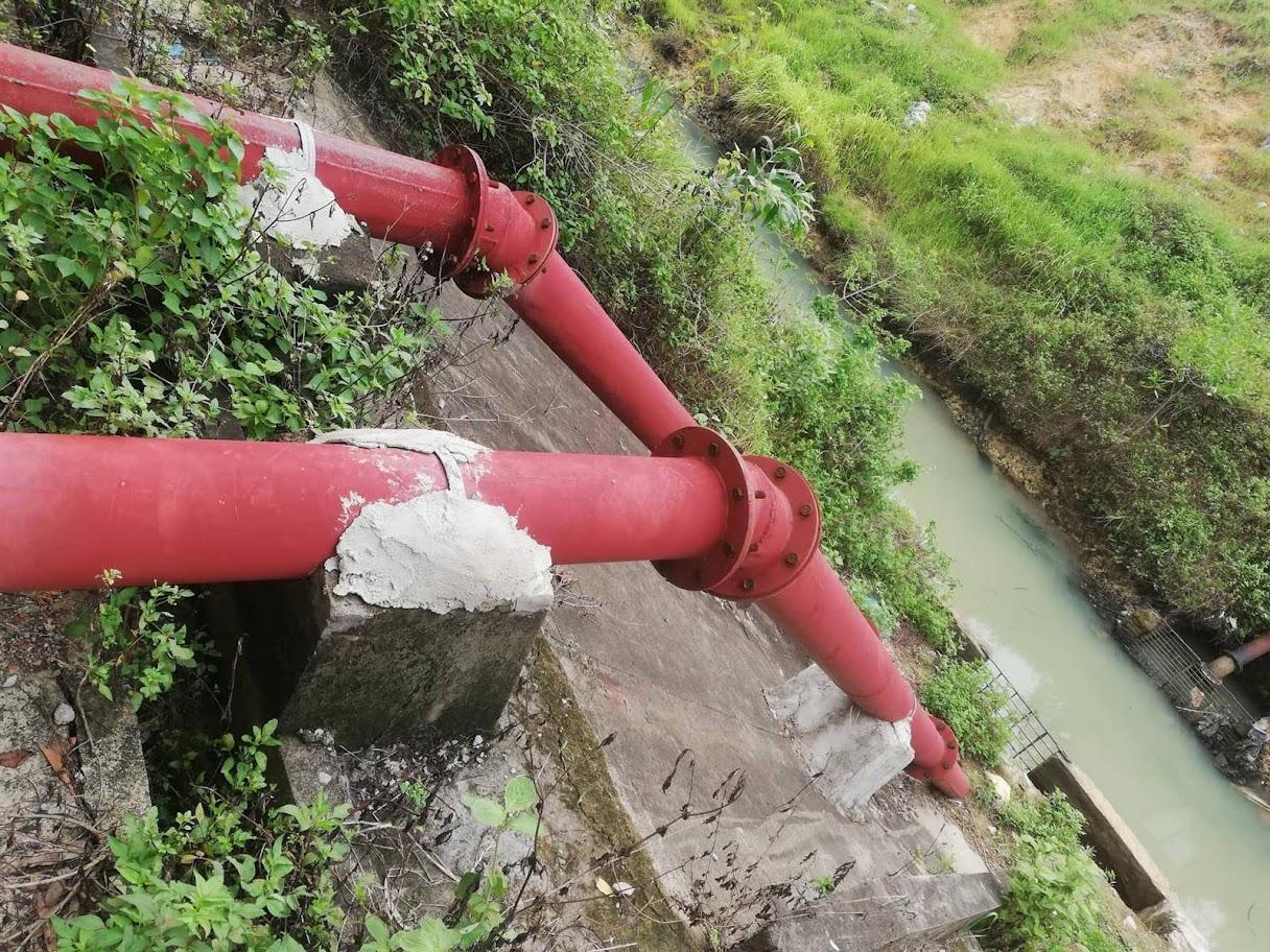 Dự án thi công sai thiết kế về độ dày của ống hút  và trụ đỡ các ống hút