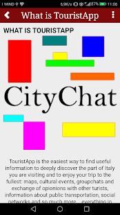 TouristApp - náhled