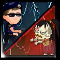 Police VS Zombies - Addictive Zombie Shooting Game icon