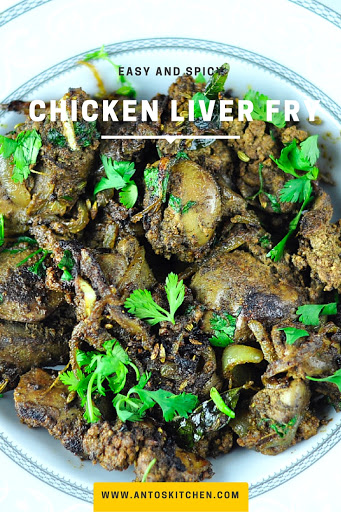 Chicken liver fry easy and spicy antos kitchen health benefits of the chicken liver forumfinder Gallery