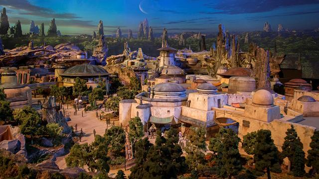 Image result for star wars land model