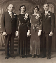 Photo: Parents of Robert F. Wagner, Ferdinand R. Wagner and Margaret (Haines) Wagner.  Also shown on the right, sister of Margaret and her husband.
