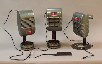 Photo: drive in iPod speakers