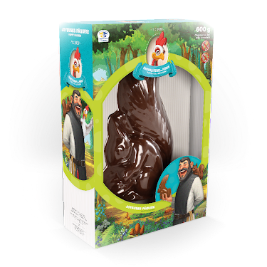 Chocolat L'écureuil Figurines régulières