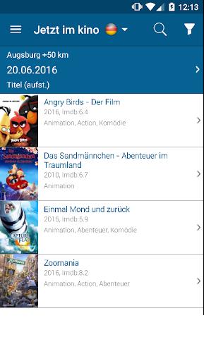 AbInsKino: Kinoprogramm mit Spielfilme TV Programm  screenshots 2