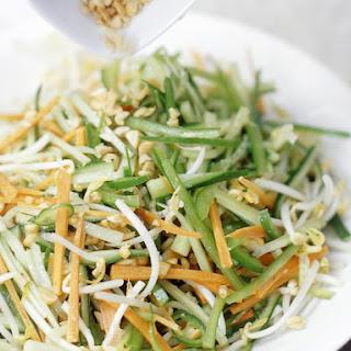 Shredded Vegetable and Peanut Salad