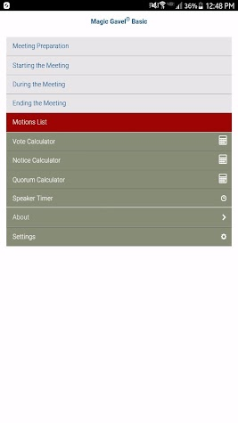 Magic Gavel® Basic Screenshot
