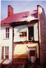 Photo: Back of house, Oct. 1974