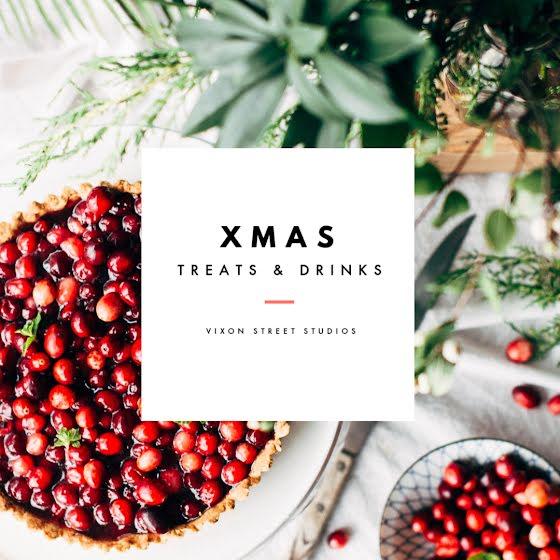 Christmas Treats & Drinks - Christmas Template
