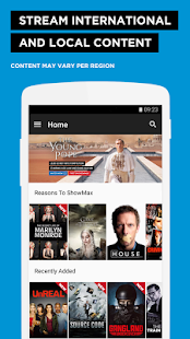 Showmax - Watch TV shows and movies- screenshot thumbnail
