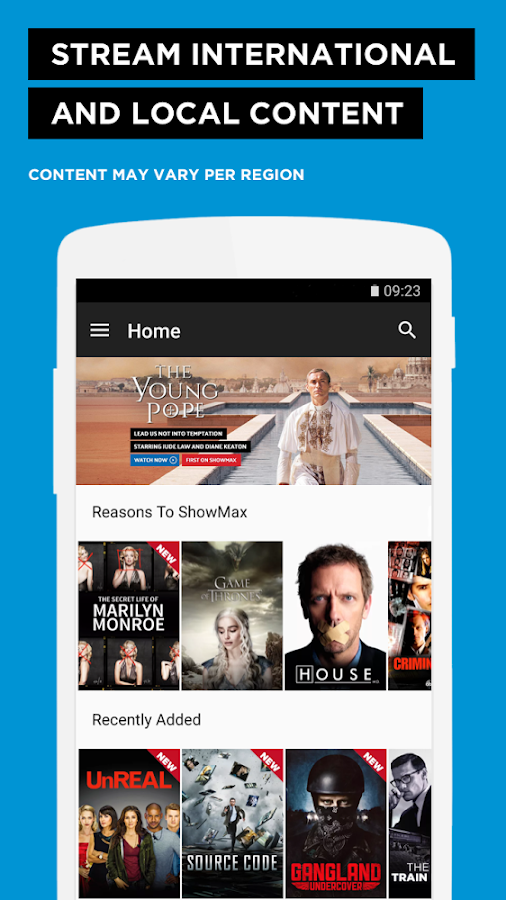 Showmax - Watch TV shows and movies- screenshot