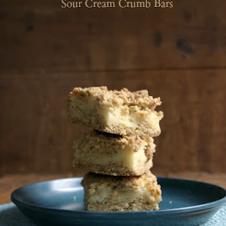 Sour Cream Crumb Bars