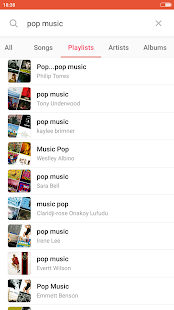 MusiGo - Free music player - náhled