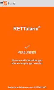 Die RETTalarm® Pager APP screenshot 0