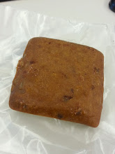 Photo: I got my Meal Squares https://www.mealsquares.com/ 400 calories each  Day 12 experiment  Day 12 MealSquare  texture: over dry brownie,very dry  taste: mostly flour? grain? then fruit,raisin?walnut? like a cookie  chugging so much tea with this time consuming soylent wins  full after half of one (200 cal)  assuming dry is for shelf life  ate another quarter for dinner, couldn't keep up with the chew, drink chew drink.  They are MUCH more portable though - stable for 2 days in your lunchbag - which beats the hell out of the 2 hour warning on wet soylent.  sad i have a bunch more i have to eat  buy:http://mealsquares.com/ my writeup:http://amazonv.dreamwidth.org/43347.html Project Tag:http://amazonv.dreamwidth.org/tag/soylent Spreadsheet:https://docs.google.com/spreadsheets/d/1c_ceOFR7S_4qUiVcEG3ykQiSRpuc13PnmcraBwklDWg/edit#gid=0 Photos:https://plus.google.com/photos/104379818983119483801/albums/6137295043742319505