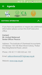 ICAP SAFA Conference 2016- screenshot thumbnail