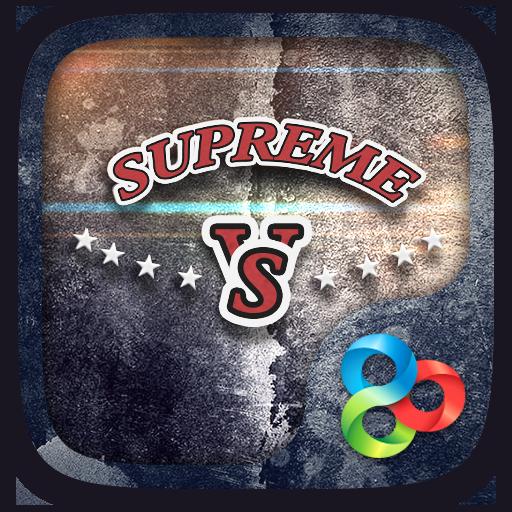 SUPREME GO Launcher Theme