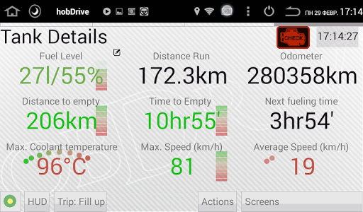 玩免費遊戲APP|下載HobDrive Demo (OBD2 ELM diag) app不用錢|硬是要APP