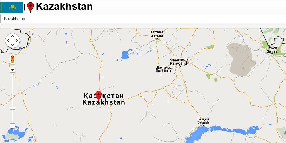 Kazakhstan Map Android Apps On Google Play - Kazakhstan map