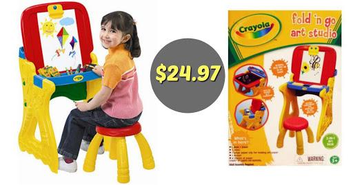 Walmart: $24.97 Crayola Art St...
