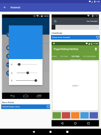 Awesome Android - UI Libraries 10.2Stable1803018 screenshots 16